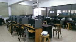 Figure 1 Computer lab view